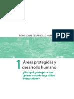 Areas Protegidas y Desarrollo Humano