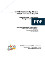 Global Village Report AIDS 2008
