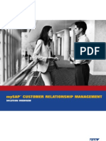 BWP MySAP CRM Solution Overview