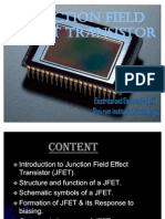 junction field effect transistors
