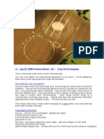 July 22, 2008 - Avebury Manor - Crop Circle Analysis