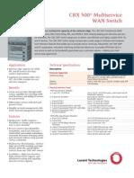 CBX 500 Multi Service Brochure