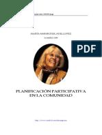 14946331 Marta Harnecker Planificacion Participativa en La Comunidad