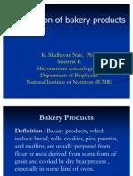 Fortification of Bakery Dr Madhavan Nair