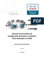 Resumo de Comandos CCNA