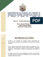 PRINCIPAL CAUSA DE SÍNDROME DE DESTRUCCIÓN VERTEBRAL EN