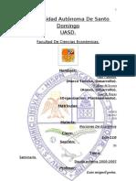 Deuda Externa 2000-2010 Republica a Seminario