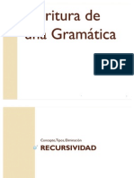 Escritura de Gramática
