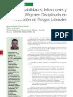 3 Régimen Disciplinario en Prevención de Riesgos Laborales