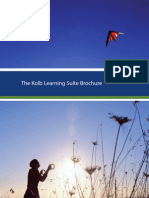 Kolb Learning Style Inventory Product Overview