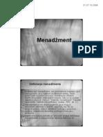 1. Menadzment-uvodno predavanje