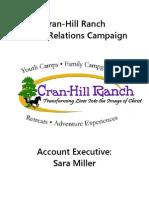 Cran-Hill Ranch PR Plan