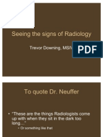 Signs of Radiology-Trevor Downing