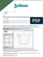 Programa para determinar propiedades geométricas de secciones _ CivilGeeks