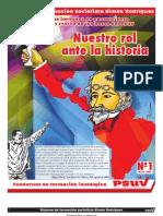 Sistema de Formación Socialista. Cuadernillo 1 Parte1