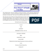 The Petition of the Free Moors of South Carolina