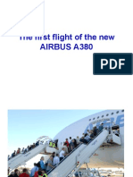 New Airbus a380