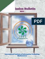 Admission Brochure 2011