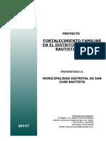 Proyecto Fortalecimiento Familiar -Ica[1]