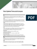 Cisco Acronyms