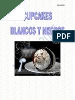 Cupcakes Blancos y Negros