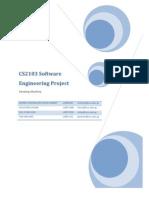 CS2103 Software Engineering Project