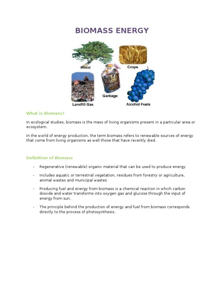 biomass | biomass | biofuel