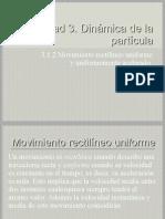 Unidad 3 Dinámica de La Partícula 3.1.2