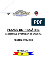 Plan Pregatire Situatii Urgenta