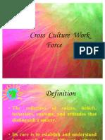 Cross Culture Work Force