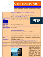 Erasmus Mundus student factsheets and testimonials