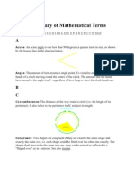 A Glossary of Mathematical Terms-1