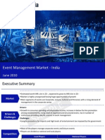 Event Management Market in India 2010 Sample 100608051638 Phpapp01