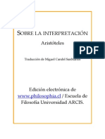 Sobre la interpretación Gredos (pdf)