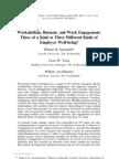 Workaholism Burnout and Work Engagement
