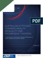 Empirica Research - ACTU Report Inequality and Progressive Taxation