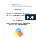 Reflective Research of Practice Reflections on My Practice Appendix