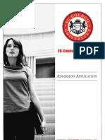 ECU Student Admissions Application