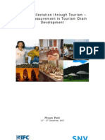 Poverty Alleviation through Tourism – Impact Measurement in Tourism Chain Development