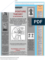 _The Posture Theory, Book on Posture and Health