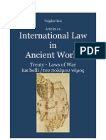 ILARI Virgilio. Treaties and Laws of War in Ancient International Law