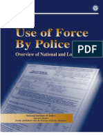 Police Use of Force - DOJ 1999