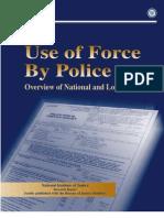 Police Use of Force - DOJ 1999