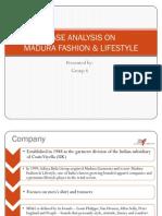 Case Analysis on Madhura Garments