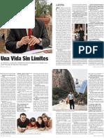 JAVIER ALVARADO EN CARETAS, UN PRESIDENTE EN CAMPAÑA