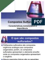 compostos sulfurados