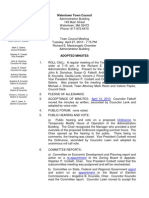 04-27-2010 Town Council Minutes Adopted