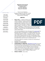 10-12-2010 Town Council Minutes Adopted
