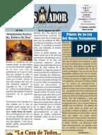 """2011-08-28 """"El Conquistador"""" Boletín Semanal de La casa de Todos- Chimbote"""