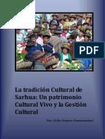 La tradición Cultural deSarhua